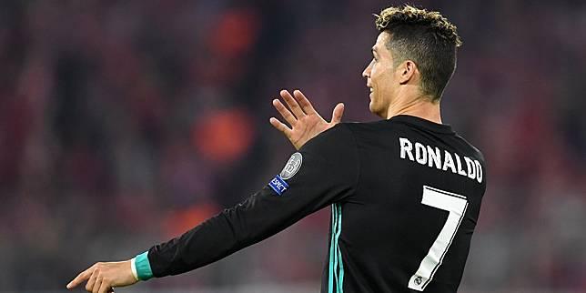 Cristiano Ronaldo semasa masih membela Real Madrid (c) AFP