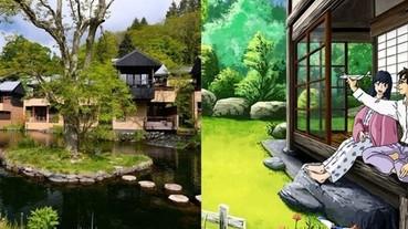 宮崎駿動畫裡出現過的「真實場景」 整個世界都是他的創作靈感!