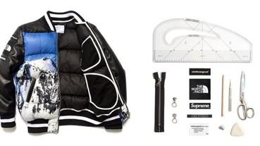 最強改造!clothsurgeon 推出獨一無二的「 Supreme X TNF 」雪山羽絨外套!