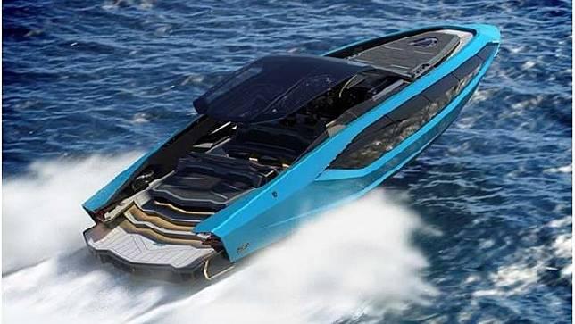 Kapal pesiar Tecnomar for Lamborghini 63. Sumber: lamborghini
