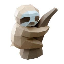 ◎全原創設計,皆為獨家造型|◎|◎商品名稱:日本SPICEDIY手作3D紙模型懶懶的樹懶禮物擺飾DIY手作種類:手作類適用年齡:8歲以上角色:沒有特殊角色特色:可組裝,立體,模型材質:紙尺寸:完成尺寸