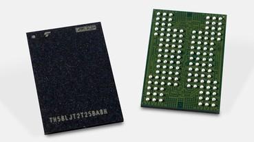 KIOXIA、WD 成功研發第五代 BiCS NAND 快閃記憶體,BiCS5 3D 堆疊達 112 層、速度加快 50%