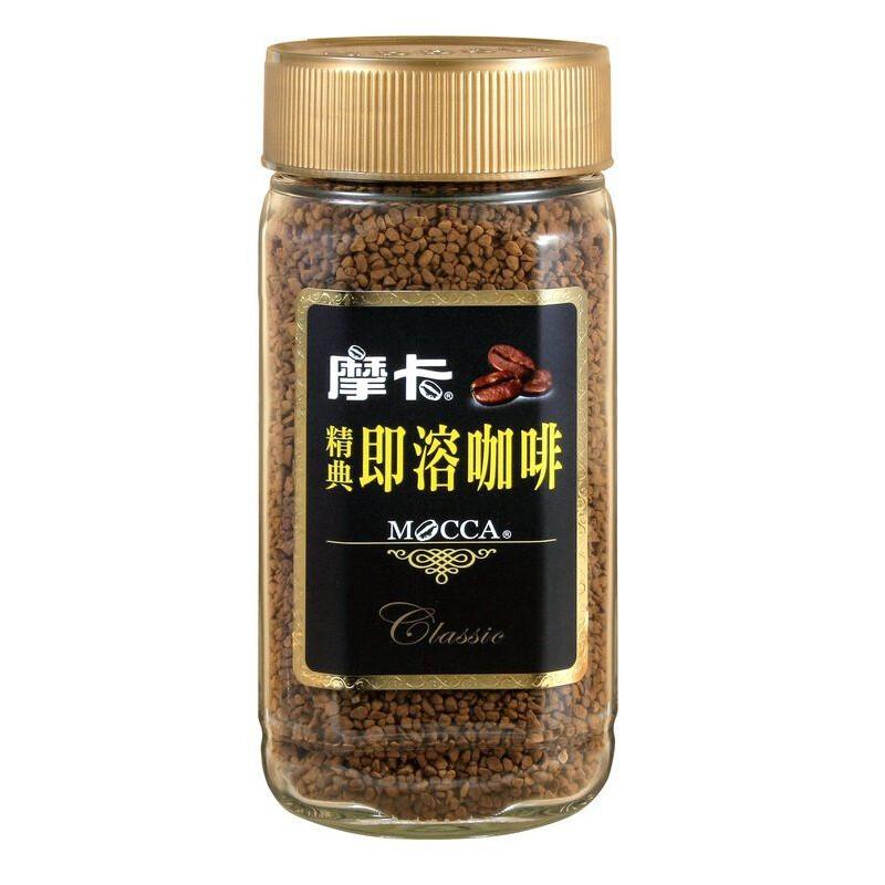摩卡咖啡 mocca 精典即溶咖啡