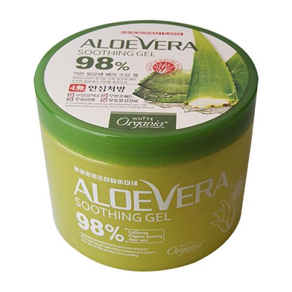 韓國Organia歐格妮亞 98%蘆薈舒緩保濕凝膠500g Vivo薇朵