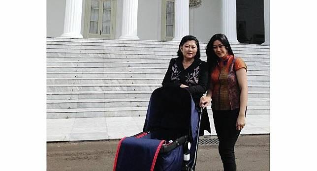 Aliya Rajasa Baskoro Yudhoyono dan Ibu Ani Yudhoyono. Instagram