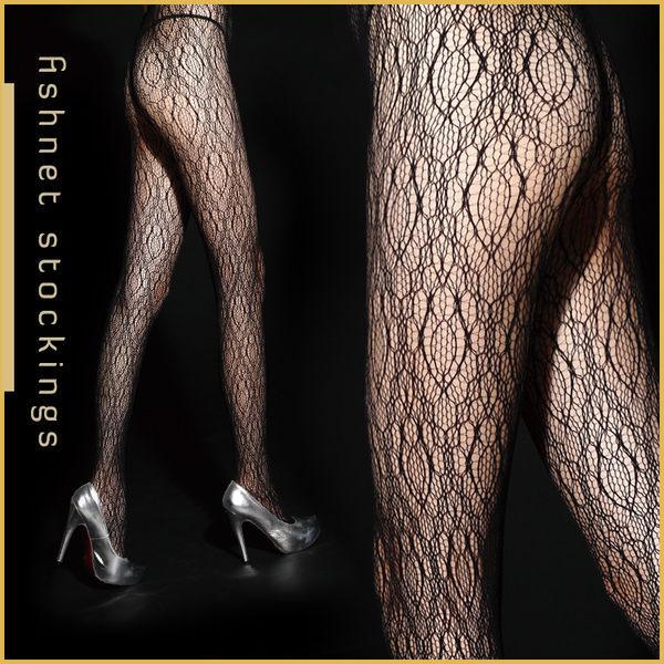 VOLA 維菈襪品‧超性感流行花紋網襪-幾何網狀