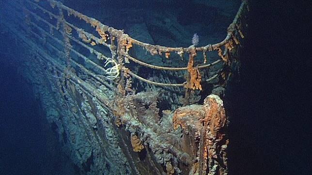 Bangkai kapal Titanic (Wikimedia Commons)