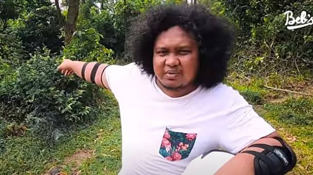 Babe Cabita jajal trabasan dengan Tontowi Ahmad (Youtube)