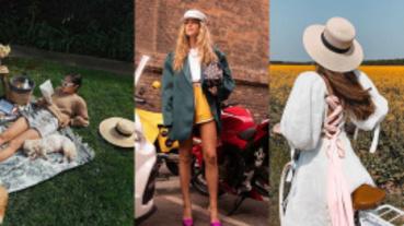 不知道該怎麼搭帽子?5位IG潮人時髦帽子穿搭示範帶你走上時髦路