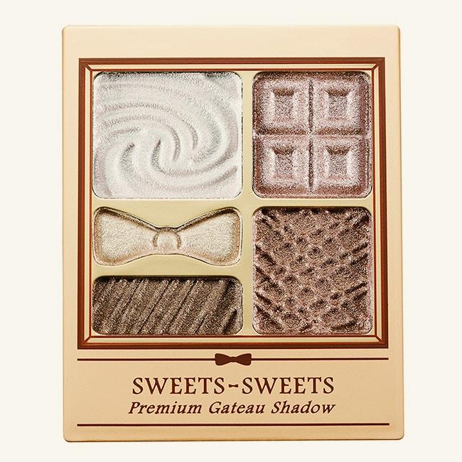 SWEETS SWEETS 甜點花園眼彩 04-莓果軟法 (眼影) 5.8g
