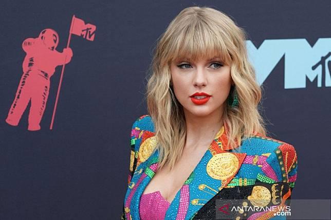 Kicauan Taylor Swift soal Donald Trump dapat