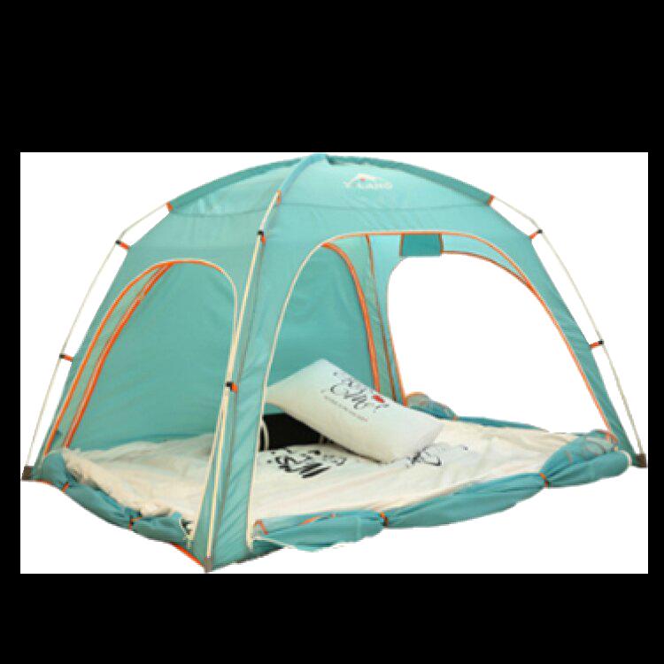 室內帳棚遊戲帳篷遊戲屋床上蚊帳床上帳篷單人室內帳篷防蚊遮光雙人帳-藍【AAA3460】