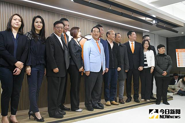 ▲親民黨主席宋楚瑜親自宣布親民黨不分區立委名單。(圖