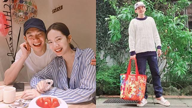 辰亦儒和曾之喬無預警宣布結婚喜訊。圖/(左)翻攝自曾之喬Instagram、(右)翻攝自黃子佼Instagram
