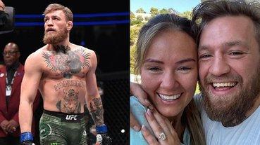 曾辛苦包養「嘴砲」長達 8 年!Conor McGregor 宣布與愛情長跑女友正式訂婚!