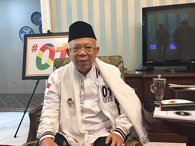 Minim Bicara saat Debat, Ma'ruf Amin: Saya Tinggal Menyetujui, Jangan Kayak Saur Manuk