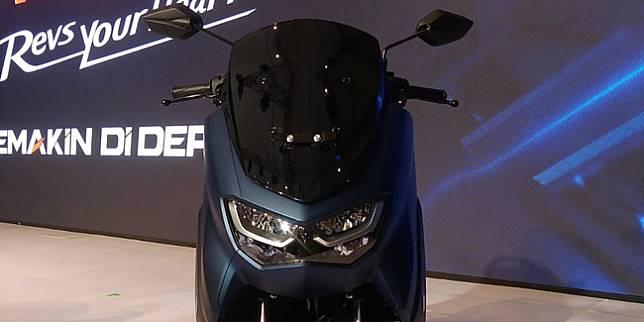All-new Yamaha NMax (Otosia.com/ Nazar Ray)