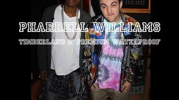 Pharrell Williams 足下著用 Timberland 6″ Premium Waterproof 客製靴款