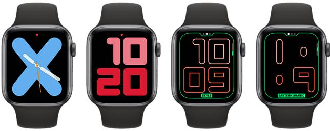 Watchos 6 New Apple Watch Face 3