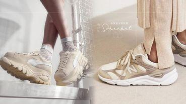 秋冬必備「奶白鞋」推薦!Converse拼接帆布鞋、Fila老爹鞋,孫芸芸同款鞋更是巨顯白、瞬間變腿精!