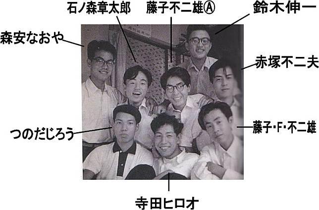 那些年入住過常盤莊的漫畫家,不少日後都成為了巨匠,深遠影響日本。(互聯網)