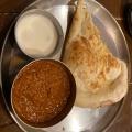 インドカレー定食 - 実際訪問したユーザーが直接撮影して投稿した西新宿インド料理ターリー屋 新宿センタービル店の写真のメニュー情報