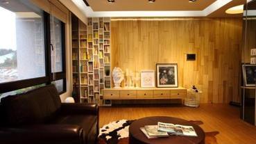 用梧桐木打造森林系居家 5 大設計手法