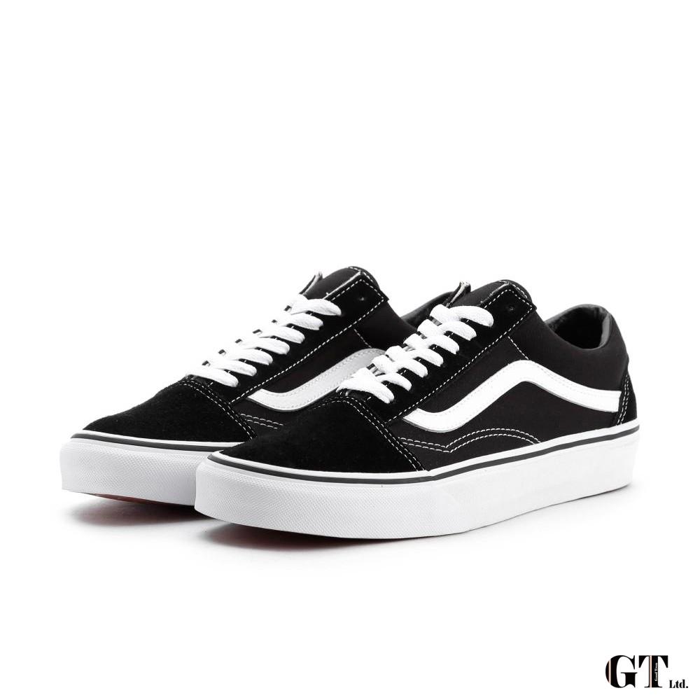 Vans Old Skool 黑白 男鞋 女鞋 低筒 基本款 經典款 運動鞋 滑板鞋 情侶鞋