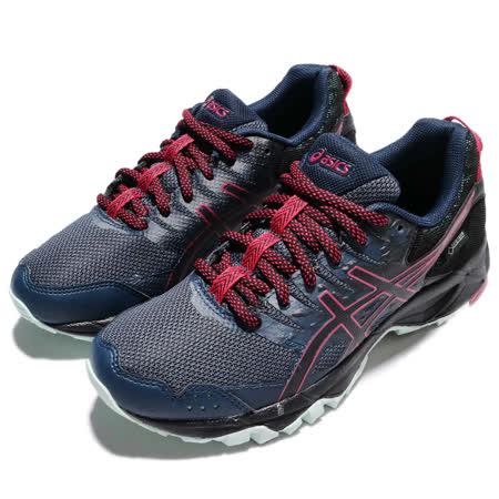 品牌: ASICS型號: T777N5090品名: Gel-Sonoma 3 G-TX特點: G-TX 防水 戶外 越野 跑鞋 避震 舒適 藍