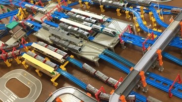 如何用鐵路模型,重現一個鐵路大站?