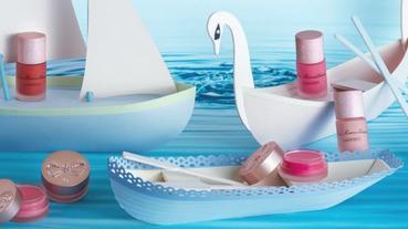 轉開瓶蓋就是喜悅,LADUREE糖霜潤色護唇膏夏日上市