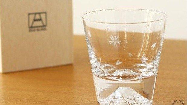 EDO GLASS富士山玻璃杯