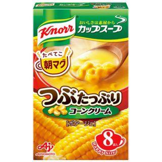 味の素 クノールカップスープつぶたっぷりコーンクリーム 8袋入