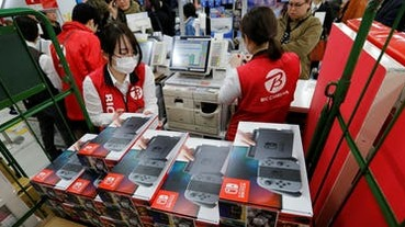 Switch 日本停止出貨!恢復日期未知