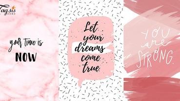 初夏要開始了!新月份換新桌布〜10張心靈滿足「粉紅桌布」放送!