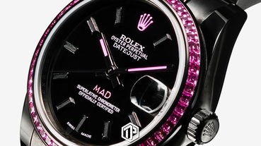 MAD Paris 打造 Rolex Datejust 31 藍寶石定製錶款!