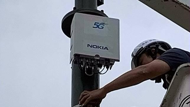搶5G競標前曝光 中華電設置全台首個小型基地台