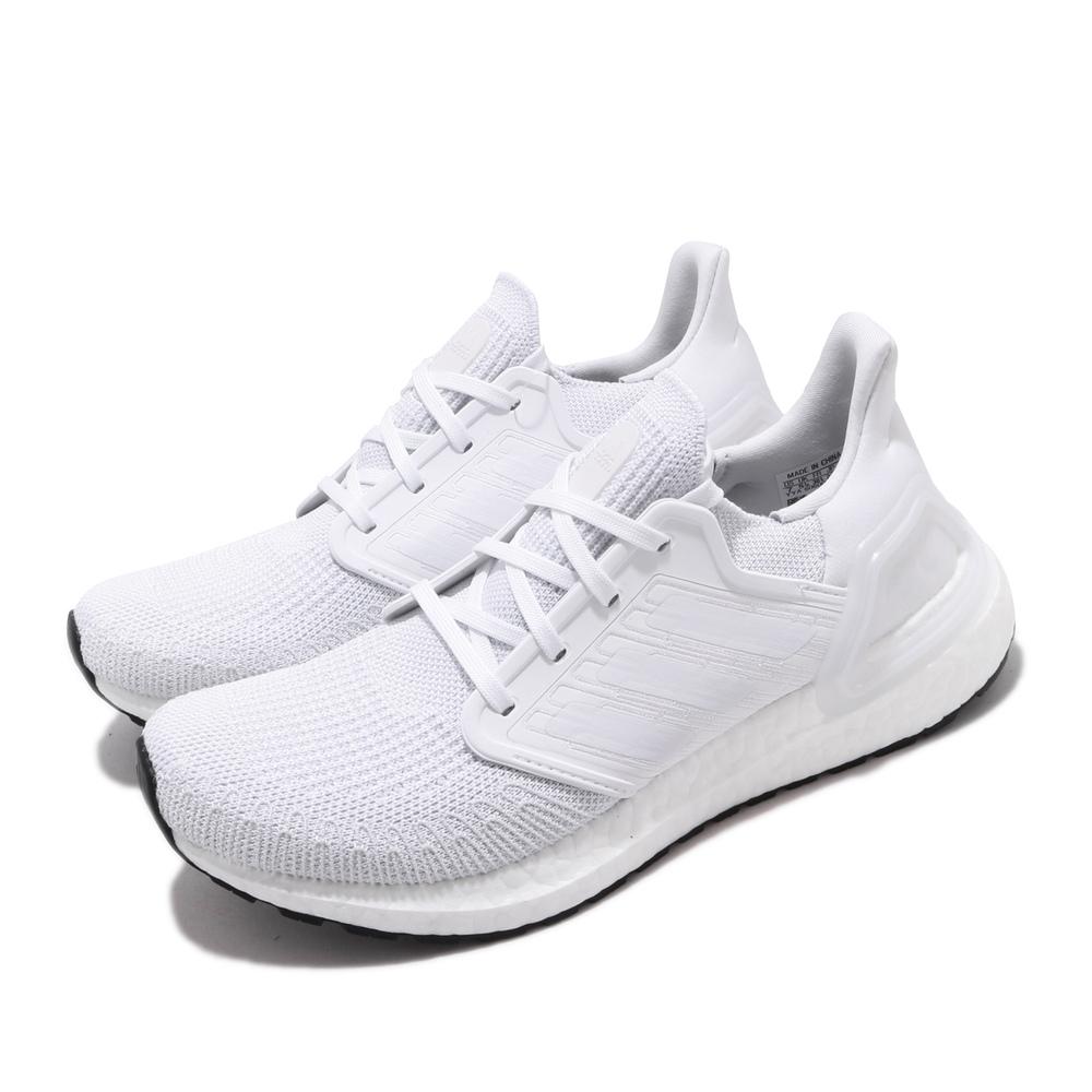 專業慢跑鞋品牌:ADIDAS型號:EG0713品名:UltraBOOST 20配色:白色,黑色