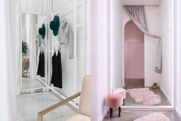 8 Ide Desain Ruang Ganti untuk Kamu yang Ingin Buka Clothing Store