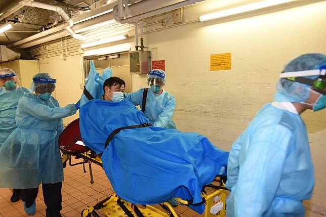 武漢來港內地男子對新型冠狀病毒呈陽性