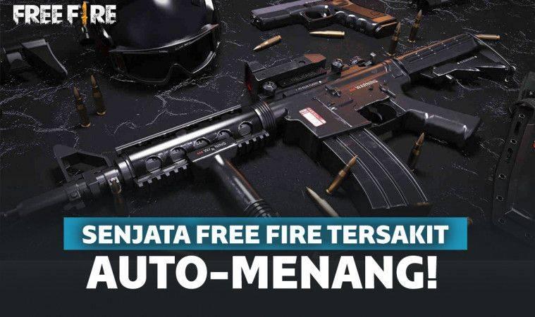 16 Senjata Free Fire Ff Terbaik 2020 Bikin Auto Booyah Keepo Me Line Today