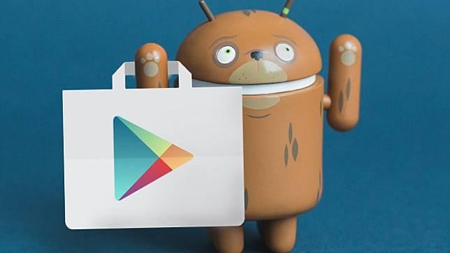 Ilustrasi beli aplikasi di Play Store.