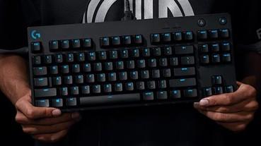羅技推出首款可拆換鍵軸的 PRO X 職業級電競鍵盤,在同一把鍵盤上體會複雜層次手感