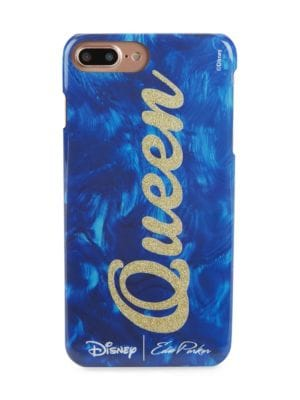 From the Disney Collection; Glossy iPhone case with shimmering lettered design; Fits iPhone 6 Plus,