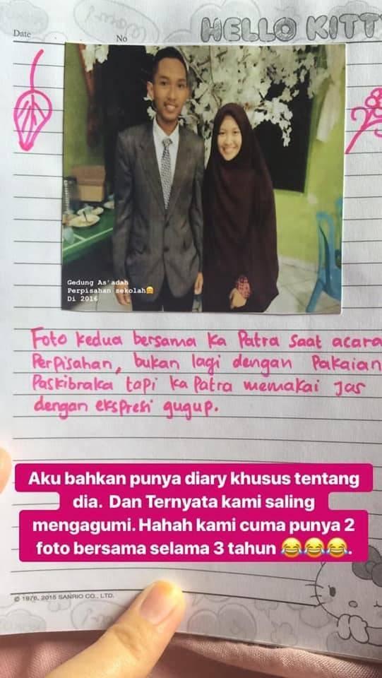Kisah cinta via (Facebook/Andi Inas Humaerah)
