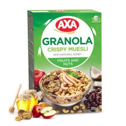 AXA綜合水果堅果穀物麥片375g
