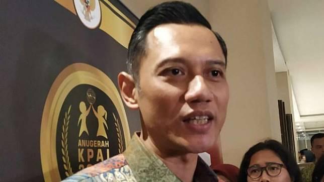 Ketua Kogasma Demokrat Agus Harimutyi Yudhoyono