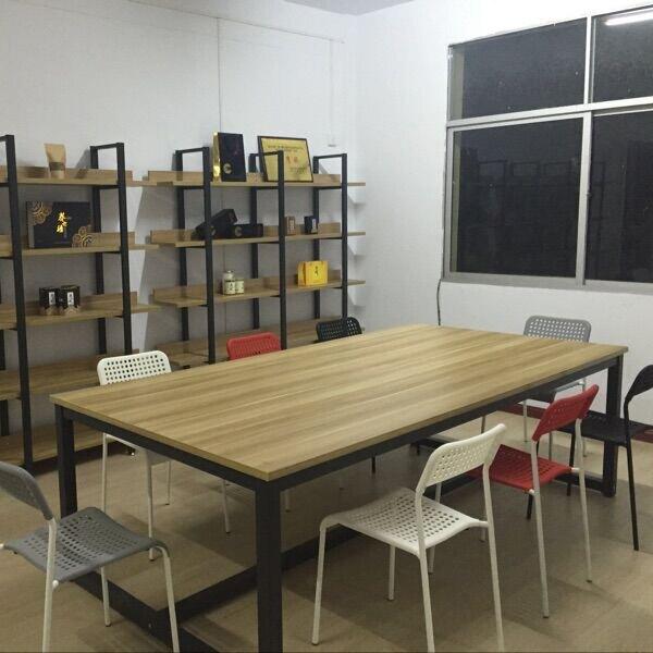 訂製 會議桌辦公桌簡約現代培訓職員老板辦公家具長桌電腦大桌子可拆卸YXS