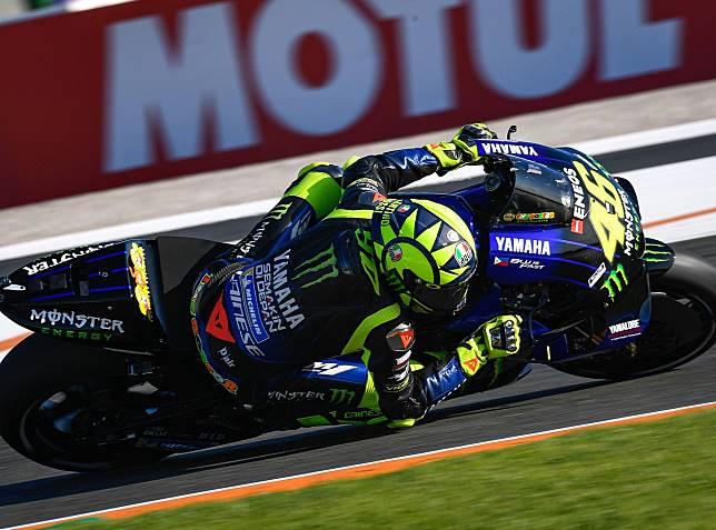 Tampil buruk di balapan MotoGP Valencia 2019, Valentino Rossi keluhkan daya cengkram ban belakang yang tak maksimal