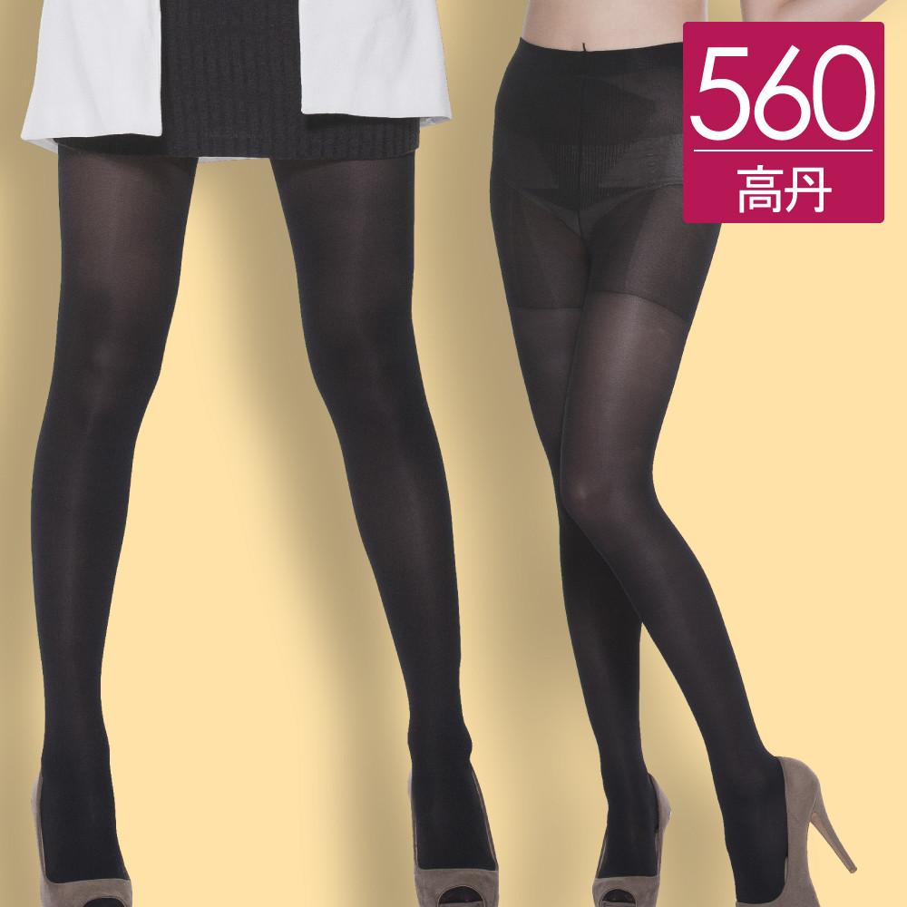【我塑我形】MIT台灣優選-560丹分段快塑薄型加壓機能褲襪